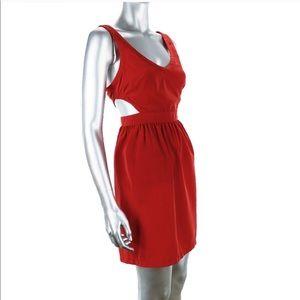 Ali & Kris Red Cut Out Side Dress